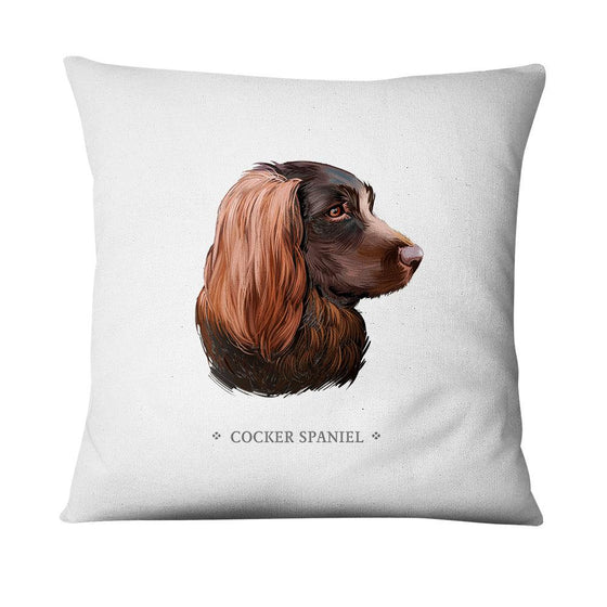Funda de cojín Cocker Spaniel