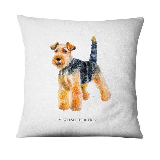 Funda de cojín Welsh Terrier