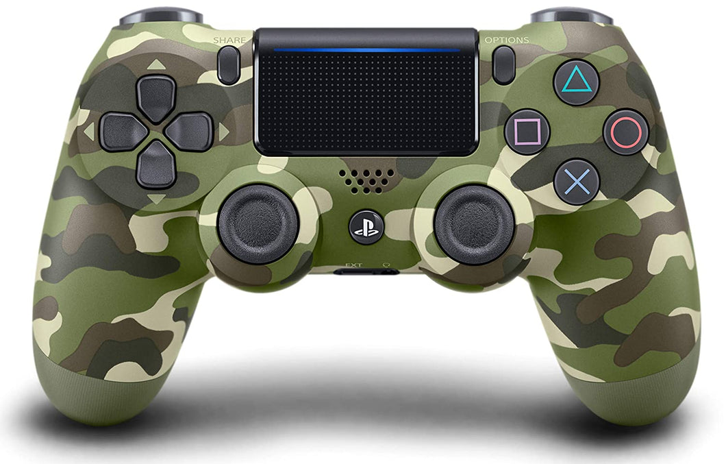 DualShocks 4 Wireless Controller for PlayStation 4 - Green Camouflage