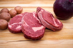 Black Angus Rib Eye Steak 1/2 of an Inch – (79.99/KG)