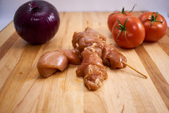 BBQ Chicken Kebabs (White) ($26.99/kg)