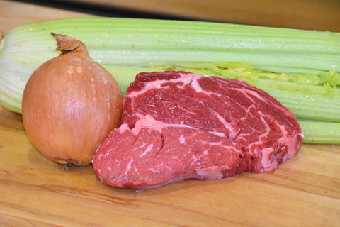Rib Eye 1/2 Inch ($69.99/kg) NOW ($59.99/kg)