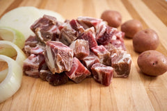 Bone-in Lamb Stew - Frozen - (34.99/kg)