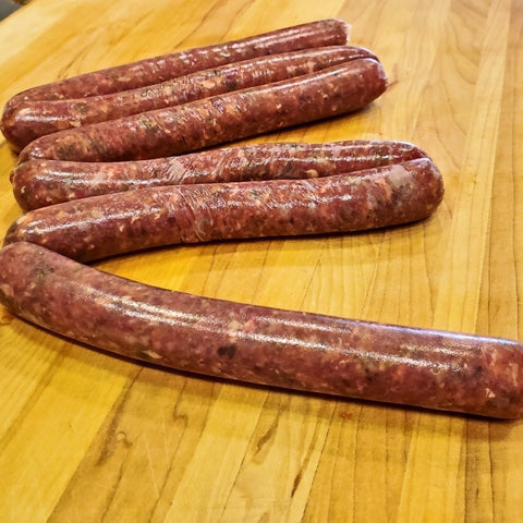 Beef Steak Sausage - Frozen - (34.99/KG)