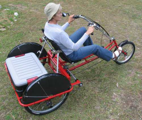 The Action Packer cargo trike.