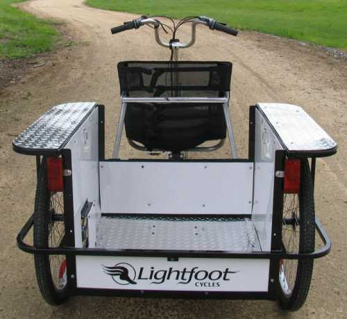 The bicycle Pickup Box