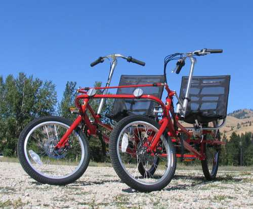 The Lightfoot Duo two-seat recumbent.