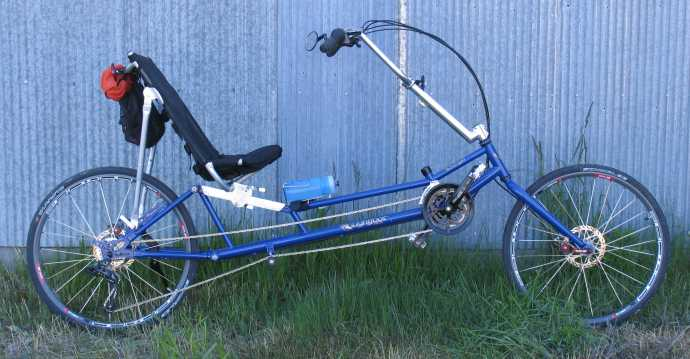 the ranger long-wheelbase road recumbent
