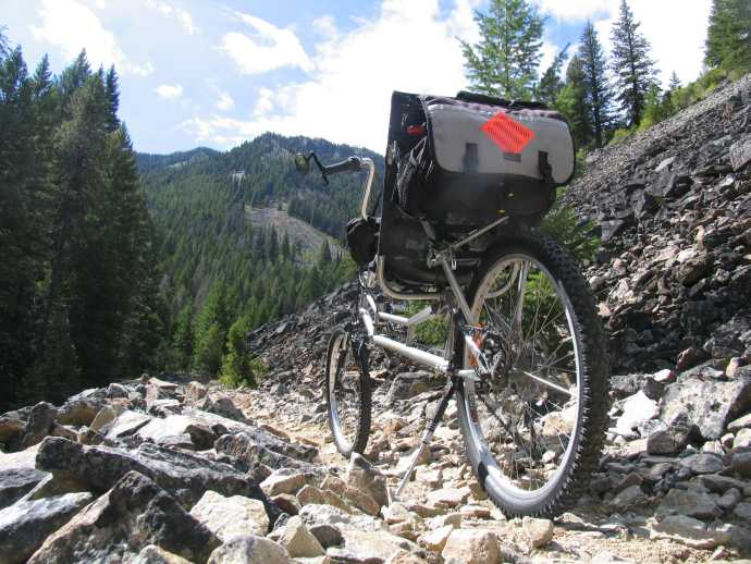 The Ranger is a capable trail bike.