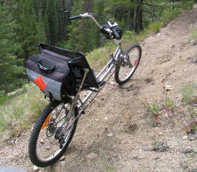 The Ranger mountain bike recumbent.