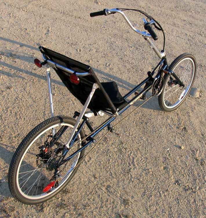 The Ranger is a good recumbent bicycle for riding on dirt roads and paths.