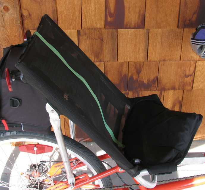 The most comfortable recumbent bicycle seat