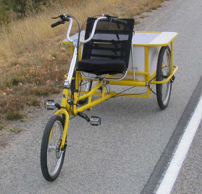 The Transporter cargo tricycle