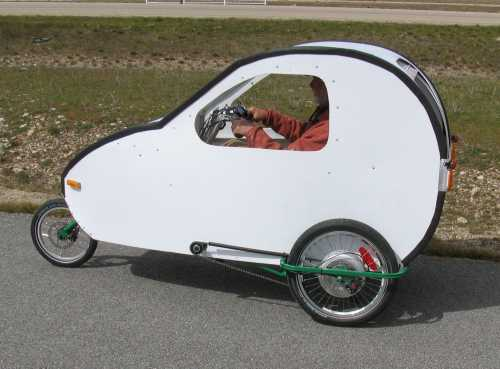 The Velobug velomobile
