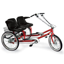 "Load image into Gallery viewer, Worksman Side-by-Side ""Team Dual"" 3-Speed Recumbent Trike-Lightfoot Cycles"
