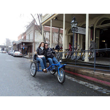 "Load image into Gallery viewer, Worksman Side-by-Side ""Team Dual"" 1-Speed Recumbent Trike-Lightfoot Cycles"