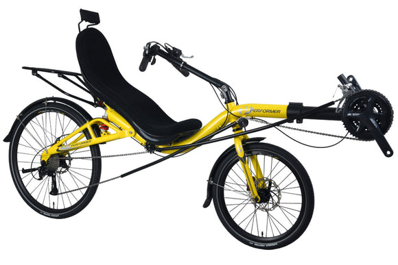 Performer Goal-X Rear Suspension Recumbent Bike