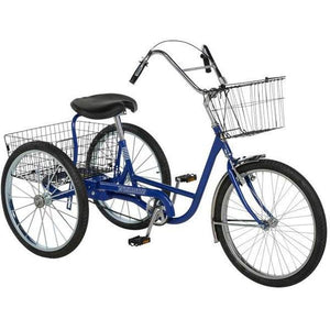 "Trailmate 24"" Hybrid Traveler Adult Tricycle-Lightfoot Cycles"