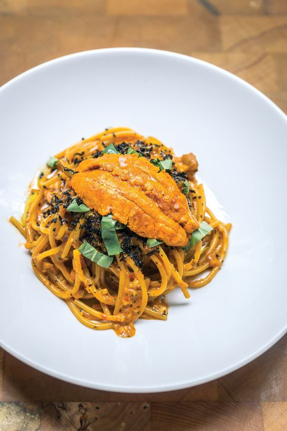 Bestia's Spaghetti with Sea Urchin