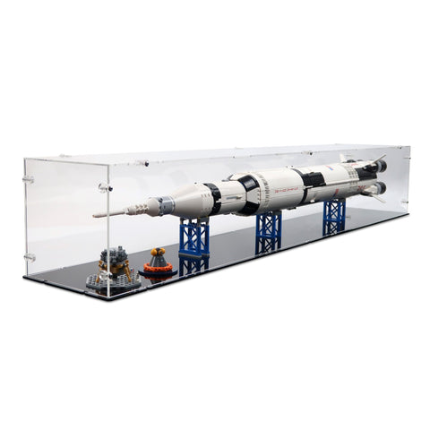 92176/21309 NASA Saturn V Display Case (Horizontal)
