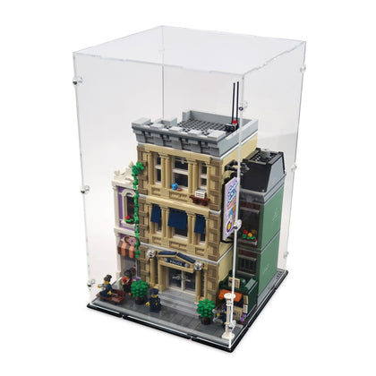 10278 Police Station Display Case