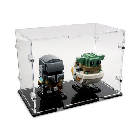 2 LEGO® BrickHeadz Display Case