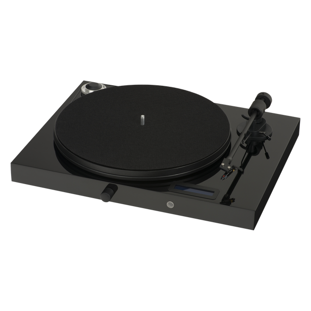 Pro-Ject Juke Box E All-In-One Record Player with Ortofon OM 5E - Black