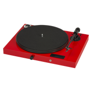 Pro-Ject Juke Box E All-In-One Record Player with Ortofon OM 5E - Red