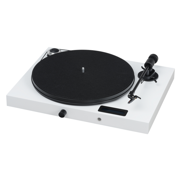 Pro-Ject Juke Box E All-In-One Record Player with Ortofon OM 5E - White