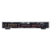 Rotel A10 Integrated Amplifier with Phono Input - Black - Rear