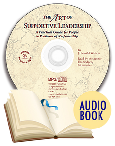 Art of Supportive Leadership Audio Book (unabridged), The