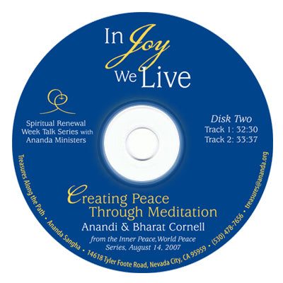 Creating Peace through Meditation