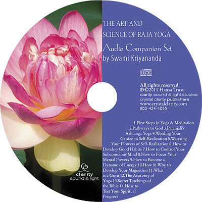 Art and Science of Raja Yoga Audio Companion Set, The