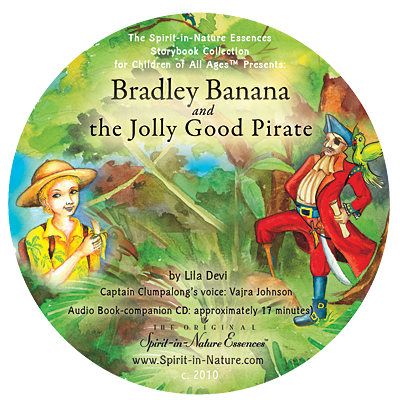 Bradley Banana and The Jolly Good Pirate (unabridged) CD