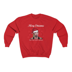 Darcey Crying Xmas Unisex Heavy Blend™ Crewneck Sweatshirt