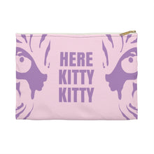 Load image into Gallery viewer, Here Kitty Kitty Tiger King Makeup Bag