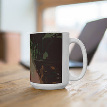 Load image into Gallery viewer, Angela Cake White Ceramic Mug 15oz