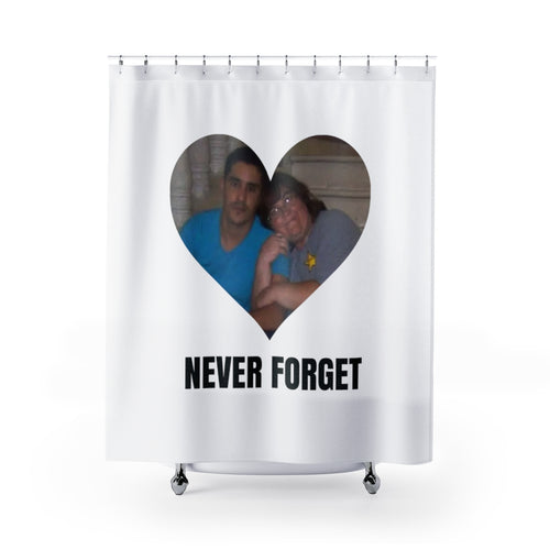 Never Forget Danielle Shower Curtain