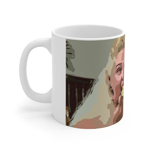Angela Cake Ceramic Mug 11oz