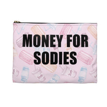 Load image into Gallery viewer, I Love Sodies Double Sided Accessory Pouch