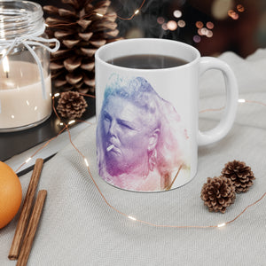 Angela Rainbow Icon Ceramic Mug 11oz