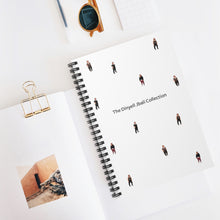 Load image into Gallery viewer, Dinyell Jbali Collection Spiral Notebook - Ruled Line