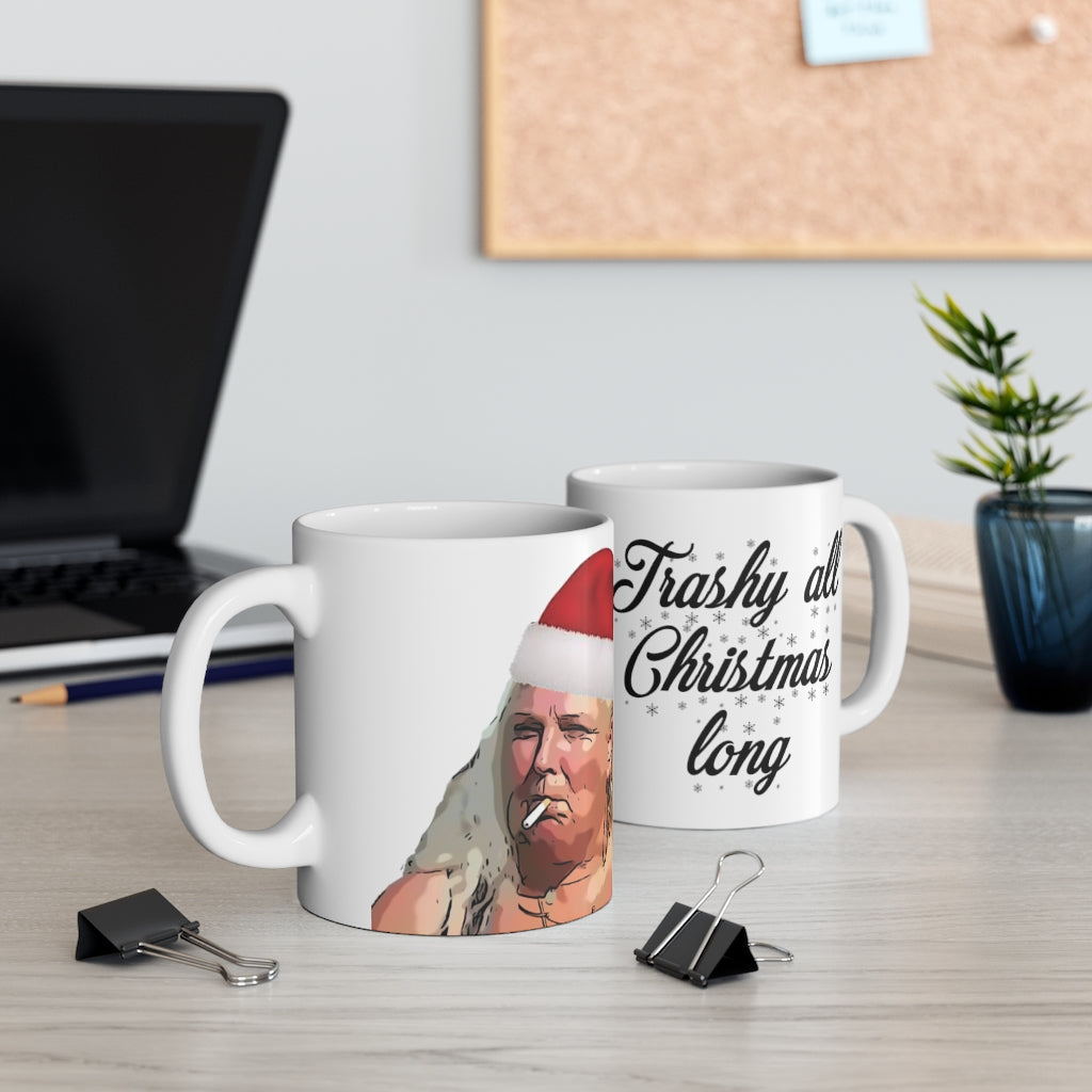 Angela Trashy All Christmas Long Mug 11oz
