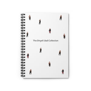 Dinyell Jbali Collection Spiral Notebook - Ruled Line