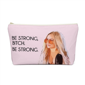 Darcey Be Strong Large Makeup Bag w T-bottom