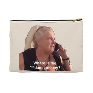 Angela Elder Double Sided Accessory Pouch