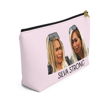 Load image into Gallery viewer, Silva Strong Makeup Bag w T-bottom