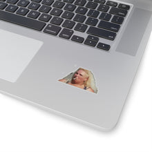 Load image into Gallery viewer, Angela Smoking Kiss-Cut Sticker