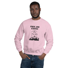 Load image into Gallery viewer, Free Joe Exotic Unisex Crewneck