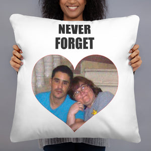 Never Forget Danielle Throw Pillow